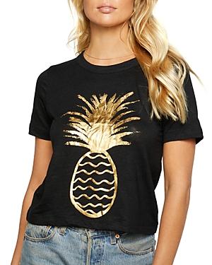 Pineapple Graphic Crewneck Tee