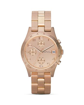 MARC JACOBS - Henry Rose Gold Watch, 36.5mm