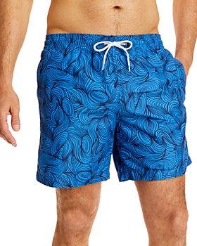 Trunks Surf & Swim Co. - Swami Printed Swim Shorts