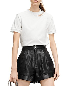 The Kooples - Safety Pin Organic Cotton Tee