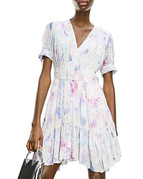 The Kooples - Floral Print Mini Dress