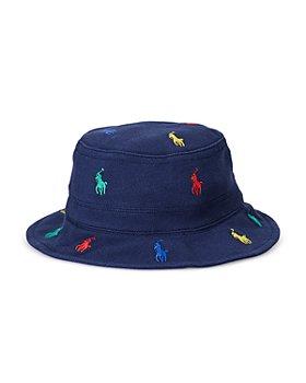 Ralph Lauren - Boys' Embroidered Pony Bucket Hat - Baby