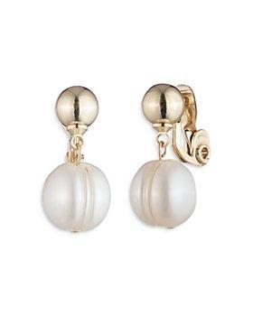 Ralph Lauren - Imitation Pearl Drop Earrings