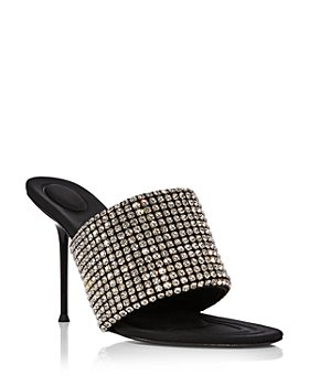 Alexander Wang - Women's Sienna Embellished High Heel Slide Sandals