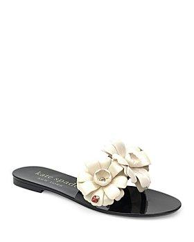 kate spade new york - Women's Jaylee Embellished Slip On Sandals