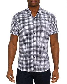 Robert Graham - Egbert Short Sleeve Shirt, Bloomingdale's Slim Fit