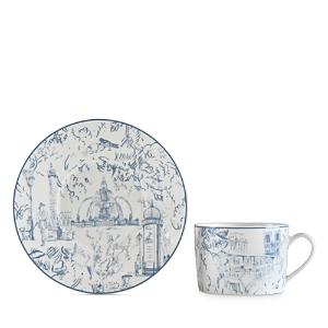 Bernardaud Tout Paris Tea Saucer