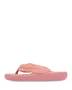 Ancient Greek Sandals - Women's Charisma Faux Fur Thong Sandals