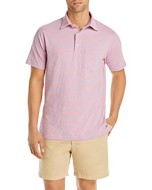 Sid Mashburn Striped Jersey Slim Fit Polo Shirt