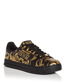 Versace Jeans Couture - Men's Baroque Print Low Top Sneakers