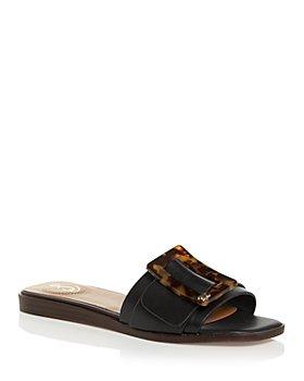 Sam Edelman - Women's Inez Square Toe Slide Sandals