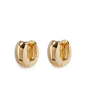 Luv Aj - Mini Mirabella Hinged Huggie Hoop Earrings