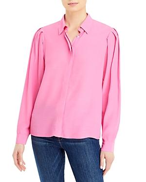 Tiffany Pleated Sleeve Shirt