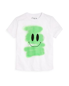 CHASER - Boys' Smiley Face Graphic Tee - Little Kid