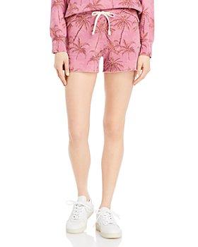Sundry - Palms Cut Off Shorts