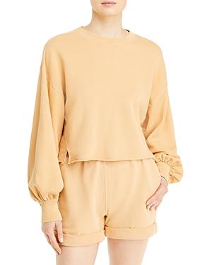 Frame Easy Puff-Sleeve Sweatshirt