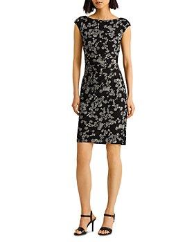 Ralph Lauren - Floral Jersey Sheath Dress