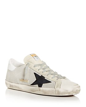 Golden Goose Deluxe Brand - Men's Super-Star Low Top Sneakers