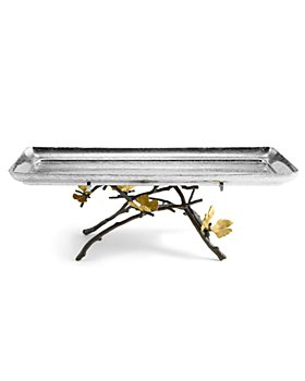 Michael Aram - Ginkgo Footed Centerpiece Tray