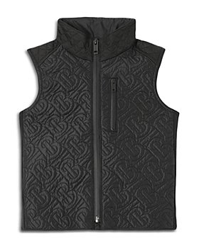 Burberry - Boys' Giaden Quilted Gilet - Little Kid, Big Kid