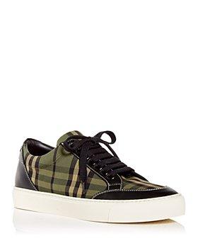 Burberry - Women's Salmond Low Top Sneakers