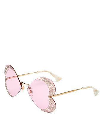 Gucci - Women's Square Sunglasses, 65mm