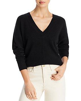 AQUA - Cashmere V Neck Sweater - 100% Exclusive