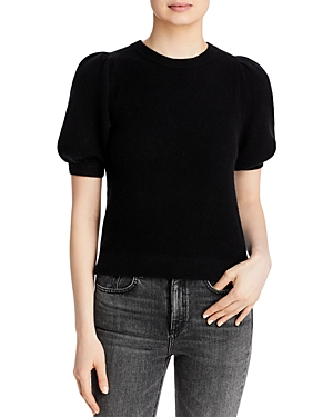 Aqua Cashmere Puff Sleeve Sweater - 100% Exclusive