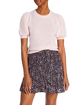AQUA - Cashmere Puff Sleeve Sweater - 100% Exclusive