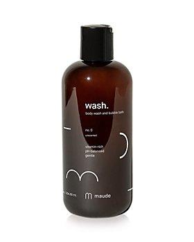 maude - Wash Body Wash & Bubble Bath - No. 0 Unscented 12 oz.