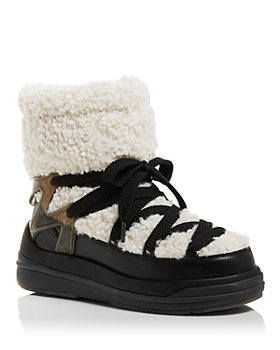 Moncler - Women's Insolux Faux Shearling Snow Boots