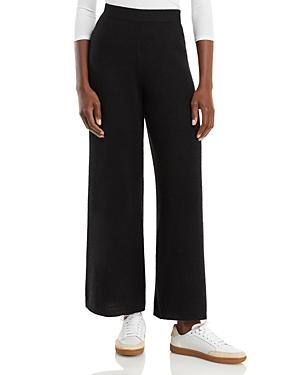 Cashmere Wide Leg Pants