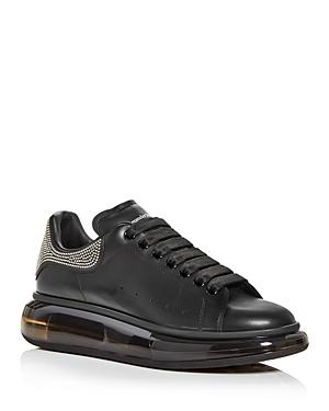 Alexander McQUEEN Men's Oversized Studded Heel Detail Transparent Sole Sneakers