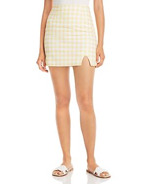 Sienna Gingham Mini Skirt