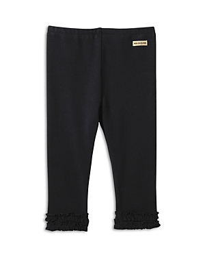 Miki House Babies' Unisex Frilled Pants - Little Kid In Black
