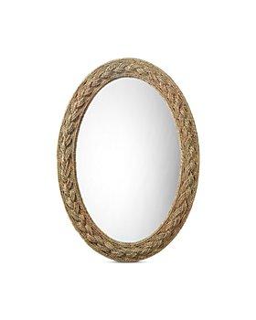 Bloomingdale's - Lark Braided Oval Mirror