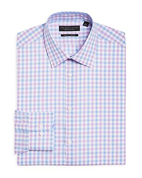 The Men's Store at Bloomingdale's - Bold Check Regular Fit Stretch Dress Shirt - 100% Exclusive