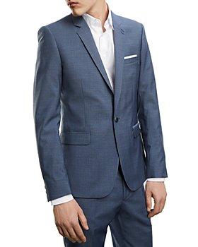 The Kooples - Patterned Slim Fit Suit Jacket
