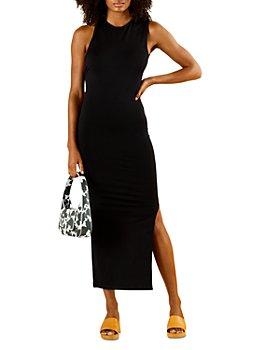 SIMON MILLER - Lou Asymmetric Back Midi Dress