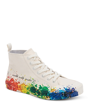 Women's Brycen Almond Toe High Top Pride Sneakers