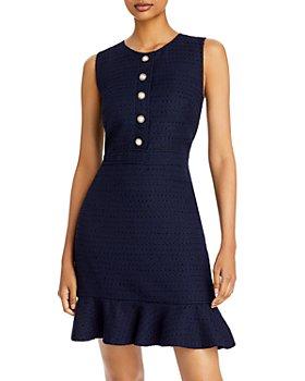 KARL LAGERFELD PARIS - Tweed Mini Dress