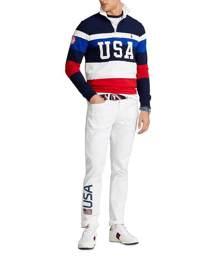 Polo Ralph Lauren - Team USA Rugby Shirt & Closing Ceremony Sullivan Slim Fit Jeans