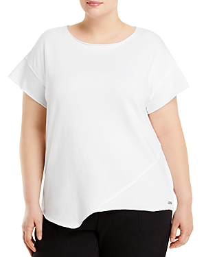 Off Duty French Terry Asymmetric Top