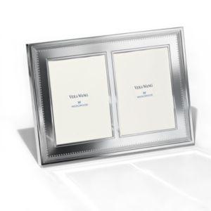 Vera Wang Wedgwood Grosgrain Double Invitation Frame, 5 x 7