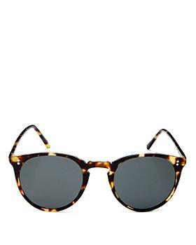 Oliver Peoples - Unisex Round Sunglasses, 48mm