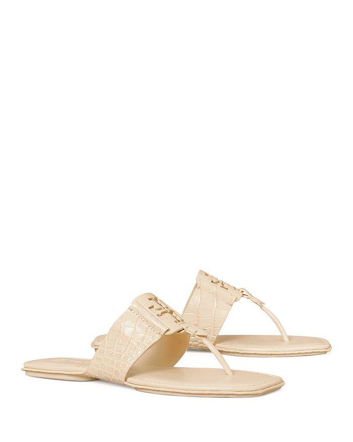 Tory Burch - Women's Georgia Embellished Thong Sandals