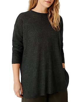 Eileen Fisher - Ribbed Delave Tunic