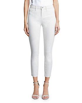 L'AGENCE - Margot Skinny Jeans in Vintage White