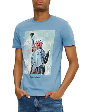 Eleven Paris Statue of Liberty Graphic Logo Tee