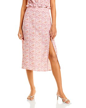 Lucy Paris - Floral Midi Skirt